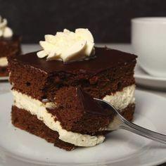 Sponge cake de chocolate