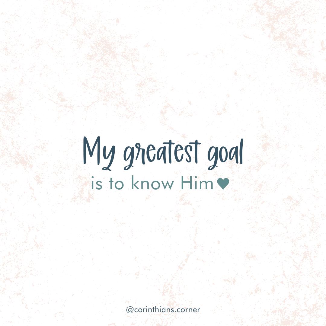 My Greatest Goal