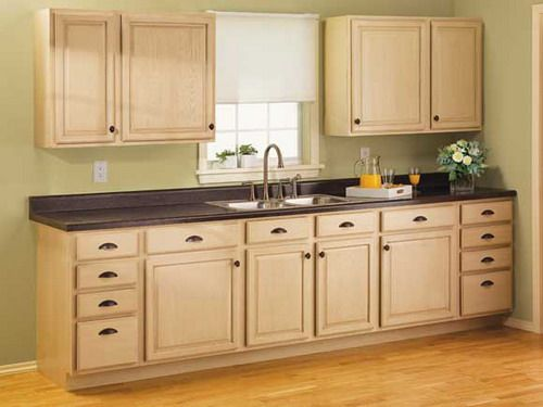 17 Best images about kitchen on Pinterest | Wood cabinets, Small ...