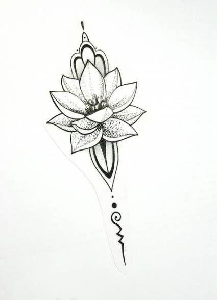 55+ Ideas Flowers Lotus Tattoo Symbols - Wohnzimmer Ideen