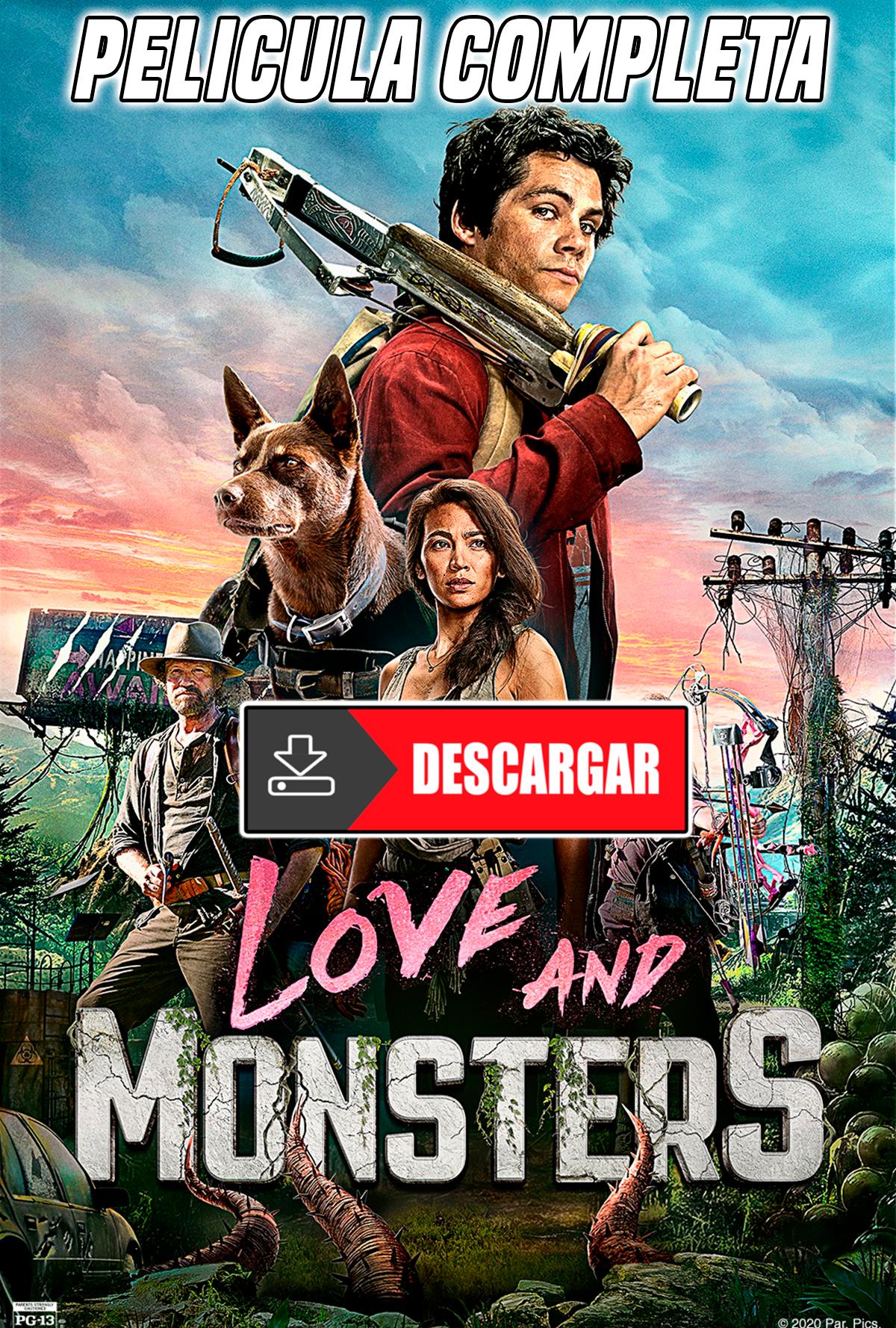 Descargar Love And Monsters Película Completa En Español Subtitulado 2020 Dylan O Brien Movies Love Monster Movie Monsters