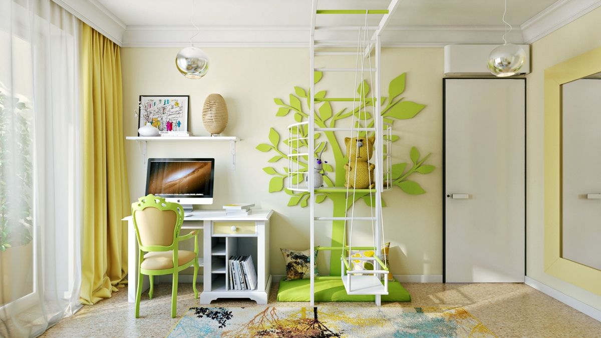 Bright and Colorful Kids Room Designs with Whimsical Artistic ...