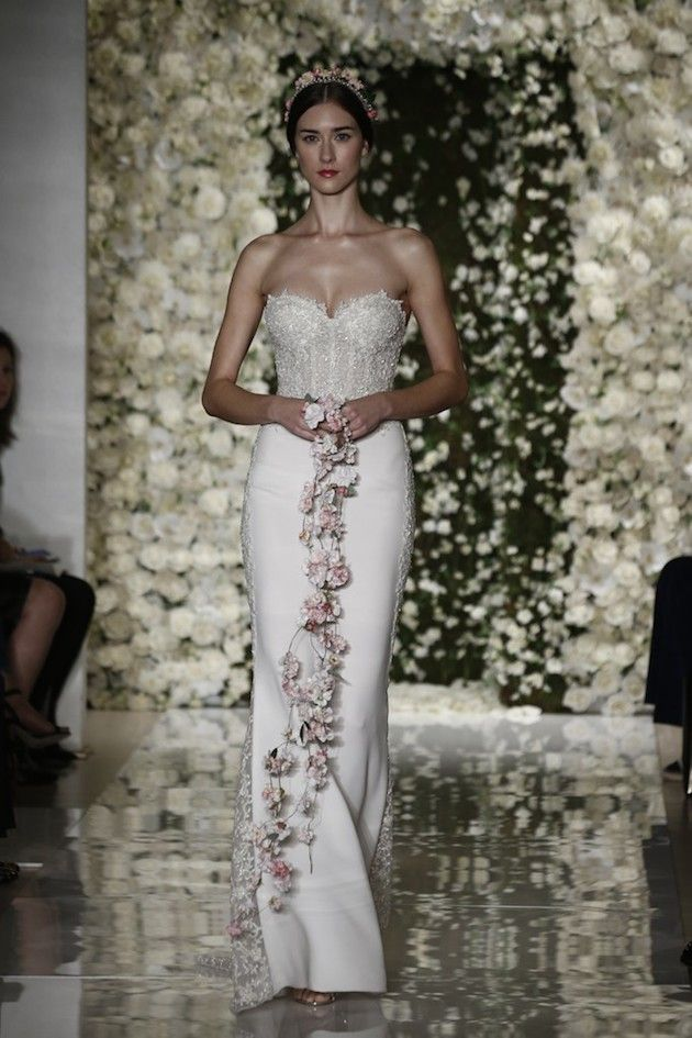 Reem Acra Fall 2015 Collection | Bridal Musings Wedding Blog | See the full collection: http://bridalmusings.com/2014/10/bridal-fashion-week-reem-acra-2015-fall-collection/