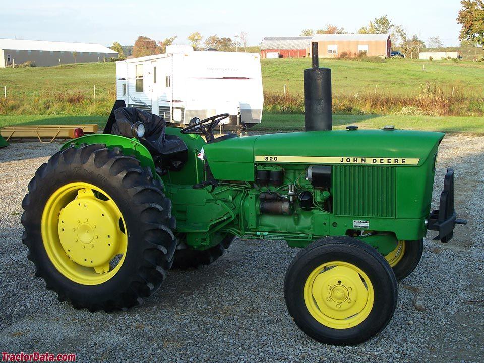 John Deere 820 Tractors made in Germany John deere tractors