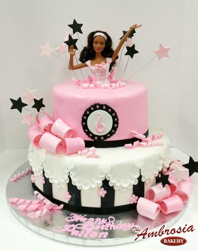Barbie Celebration! | The Ambrosia Bakery Cake Designs- Baton Rouge ...