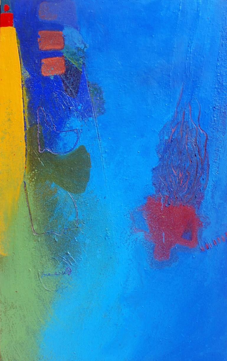 "Saatchi Art Artist Regi Bardavid; , ""HUMMING WITH DELIGHT"" #art"