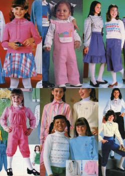 1982 Girls Clothes | 80s fashion kids, 1980s kids fashion ...