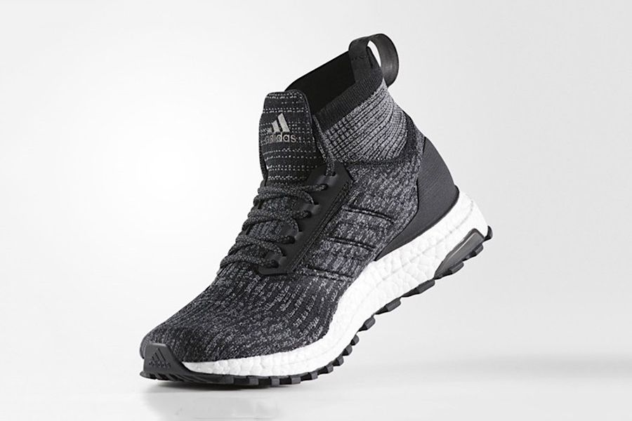 The Adidas UltraBOOST ATR Mid Primeknit Gets A New Gray-Heavy Makeover