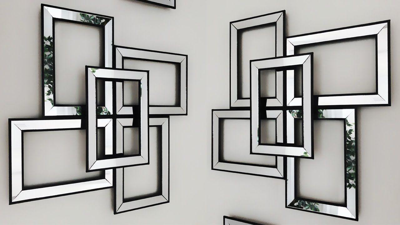 DIY Dollar Tree Mirror Wall Decor - So Easy To Make ...