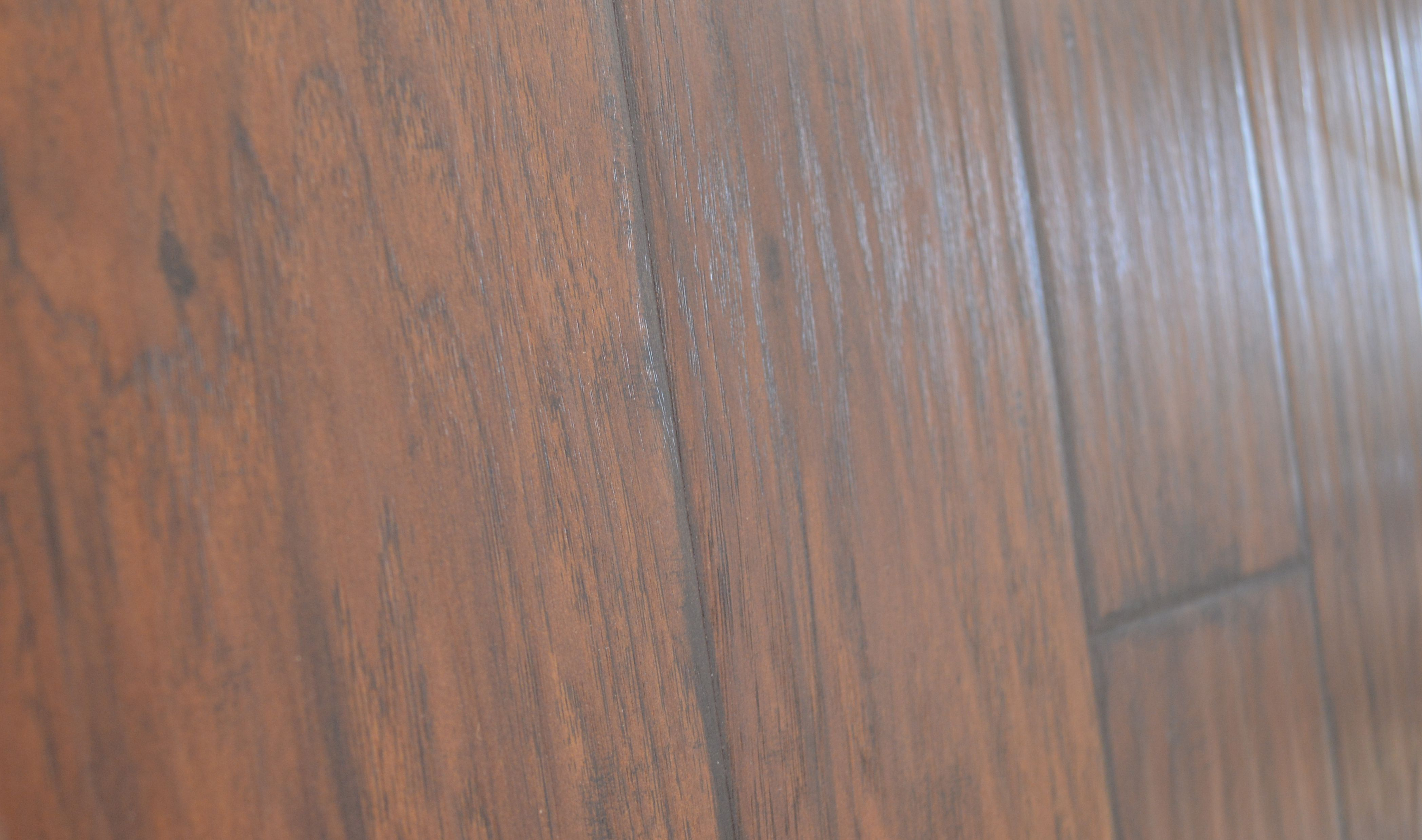 Copper Ridge 6 1 8 X 5 16 Bourbon Pecan Side View Hardwood Flooring Hardwood Floors