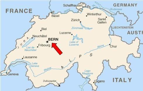 Bern Switzerland Map | Christopher\'s Expat Adventure: Bern ...