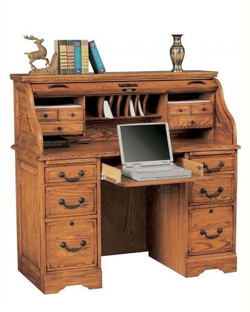 winners only roll top computer desk