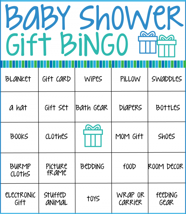 photograph regarding Printable Baby Shower Bingo called Create your subsequent youngster shower unforgettable with Those people totally free
