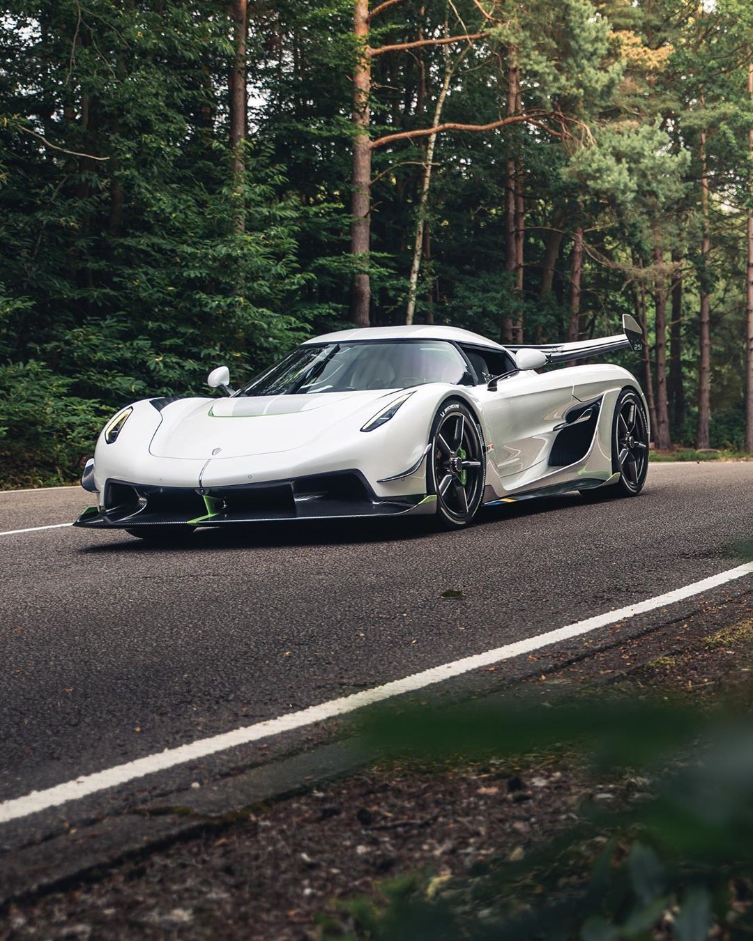 Koenigsegg Jesko In The Forest Koenigsegg Super Luxury Cars Lexus Sports Car