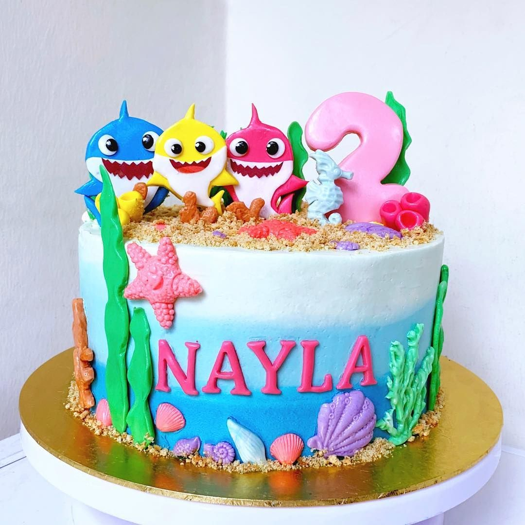77 Baby Shark Cake Ideas To Steal For Your Child S Next Birthday