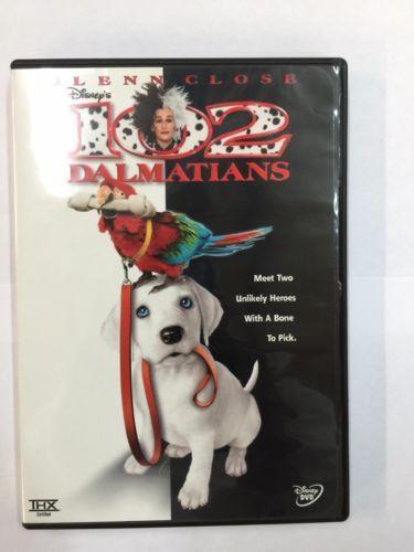 102 Dalmatians Dvd 2001 Pan Scan Dalmatian 101 Dalmatians Movie Dvd