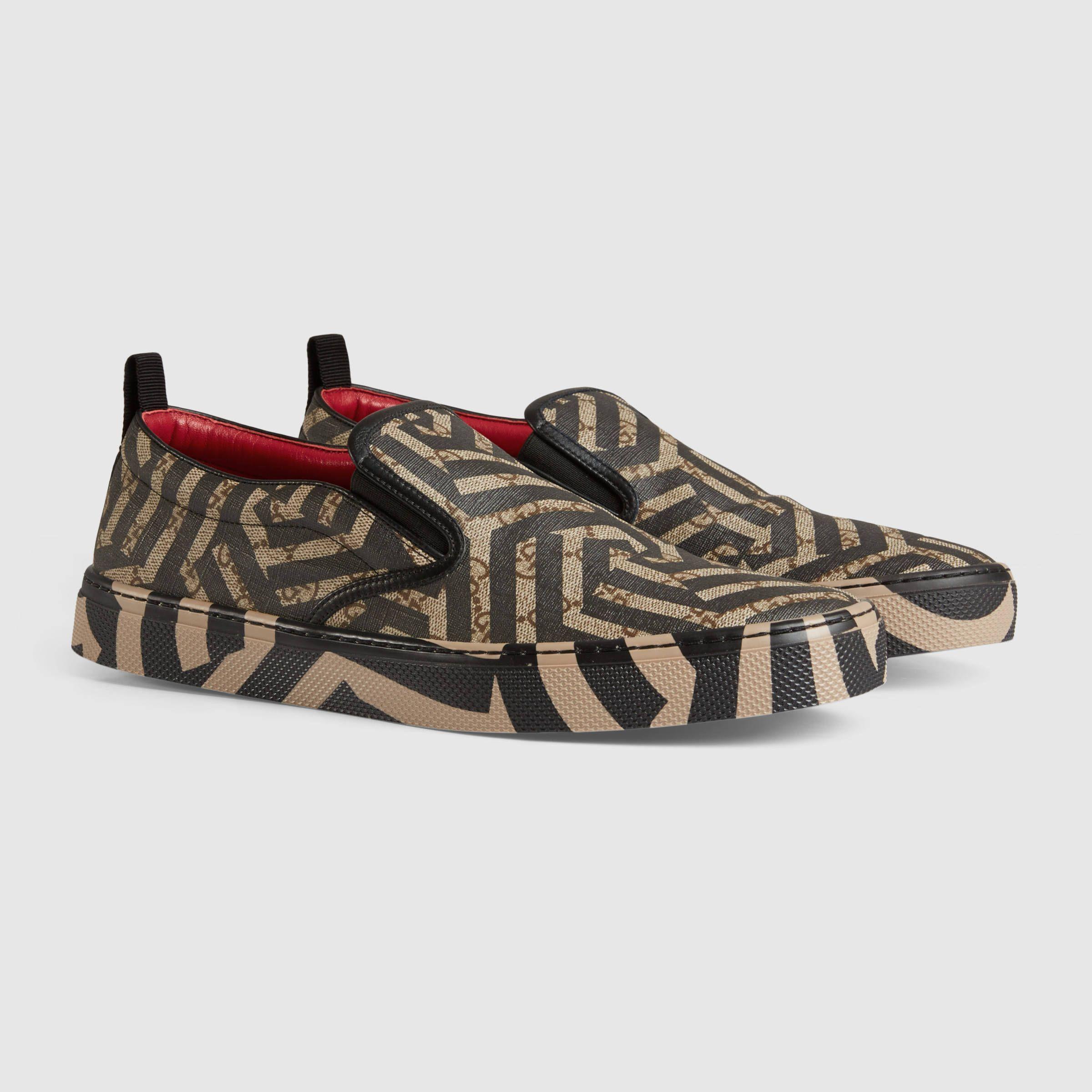 da000d296e6 Gucci Men - GG Caleido sneaker - 407362KVW409761 Gucci Men