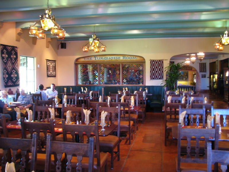 Turquoise Room At La Posada Hotel In Winslow Arizona Great Restaurant And Historic