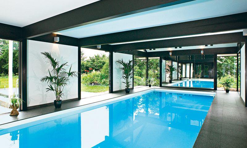 Swimmingpool im haus  Innenpool - Google-søgning | Indoor Pool | Pinterest ...