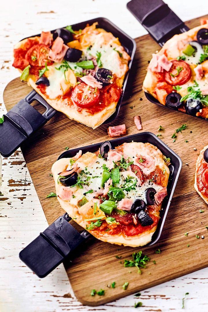 Raclette-Pizza #fonduesavoyarde