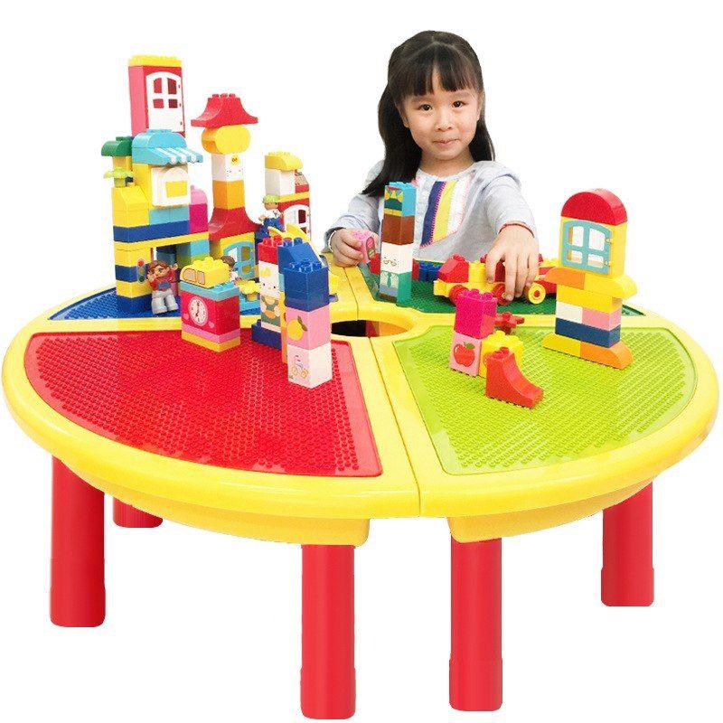 Ronde Lego Tafel.Goedkope Grote Ronde Tafel Grondplaten Kleine Bricks