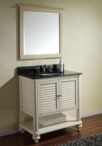 Shuttered Bathroom Vanities For A