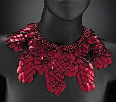 Kali Butterfly - About the Artist, Vanessa Walilko, Aluminum Chain Mail Jewelry Designer | That ...