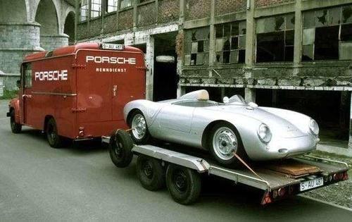 Porsche transporter.