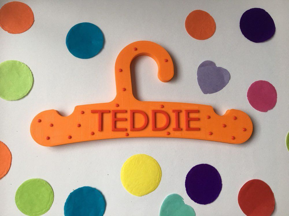Baby Gift With Name Birth Gift Personalised Clothes Hanger