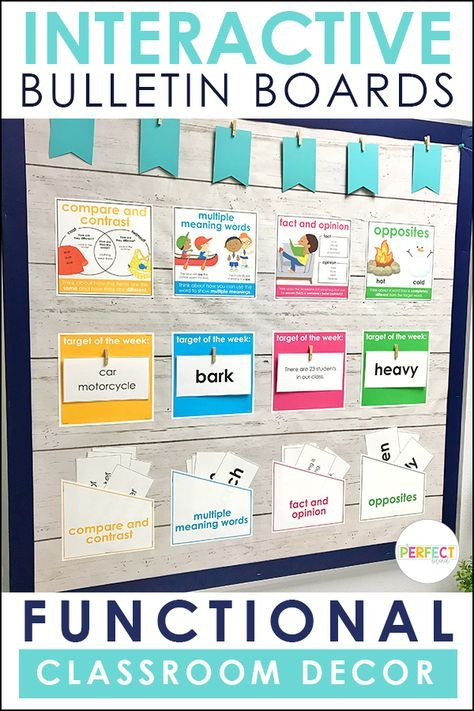 Don't Waste Space: Create Interactive and Functional Bulletin Boards images