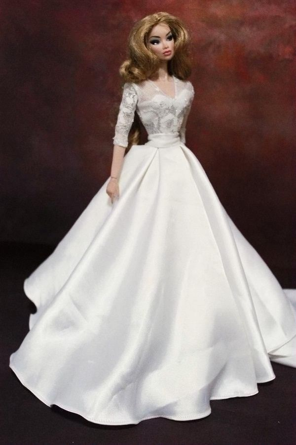 C38HANDMADE Dress BArbie Silkstone Fashion Royalty | eBay | Barbie ...