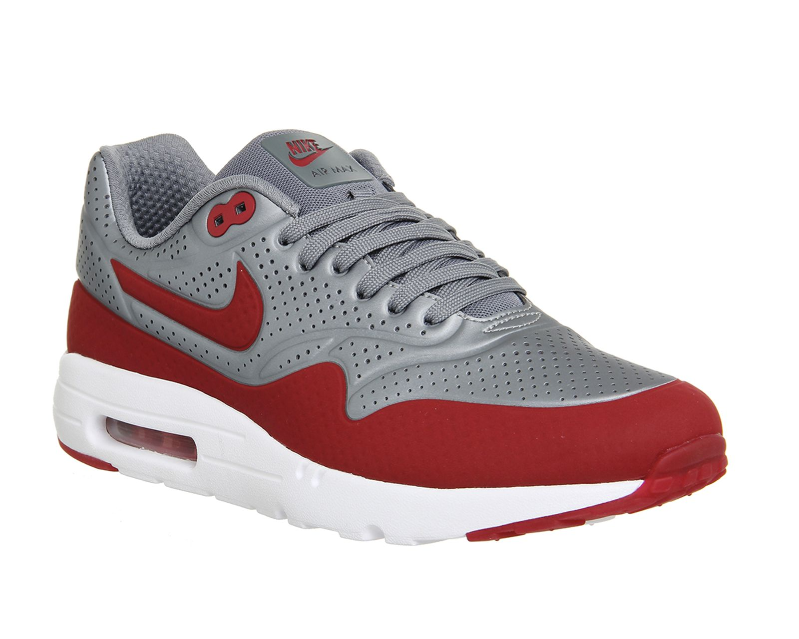 Nike Air Max 1 Ultra Moire Silver Uni Red His trainers