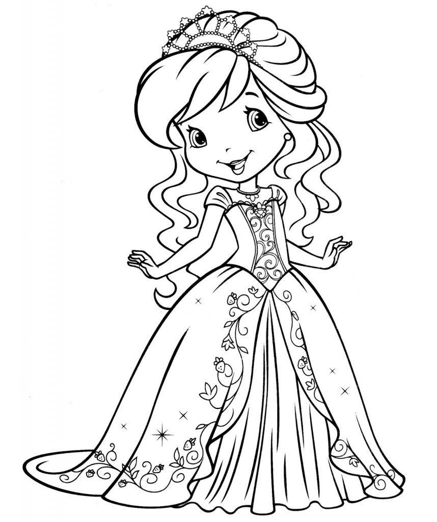 Coloring Pages for Girls Cute coloring pages, Coloring