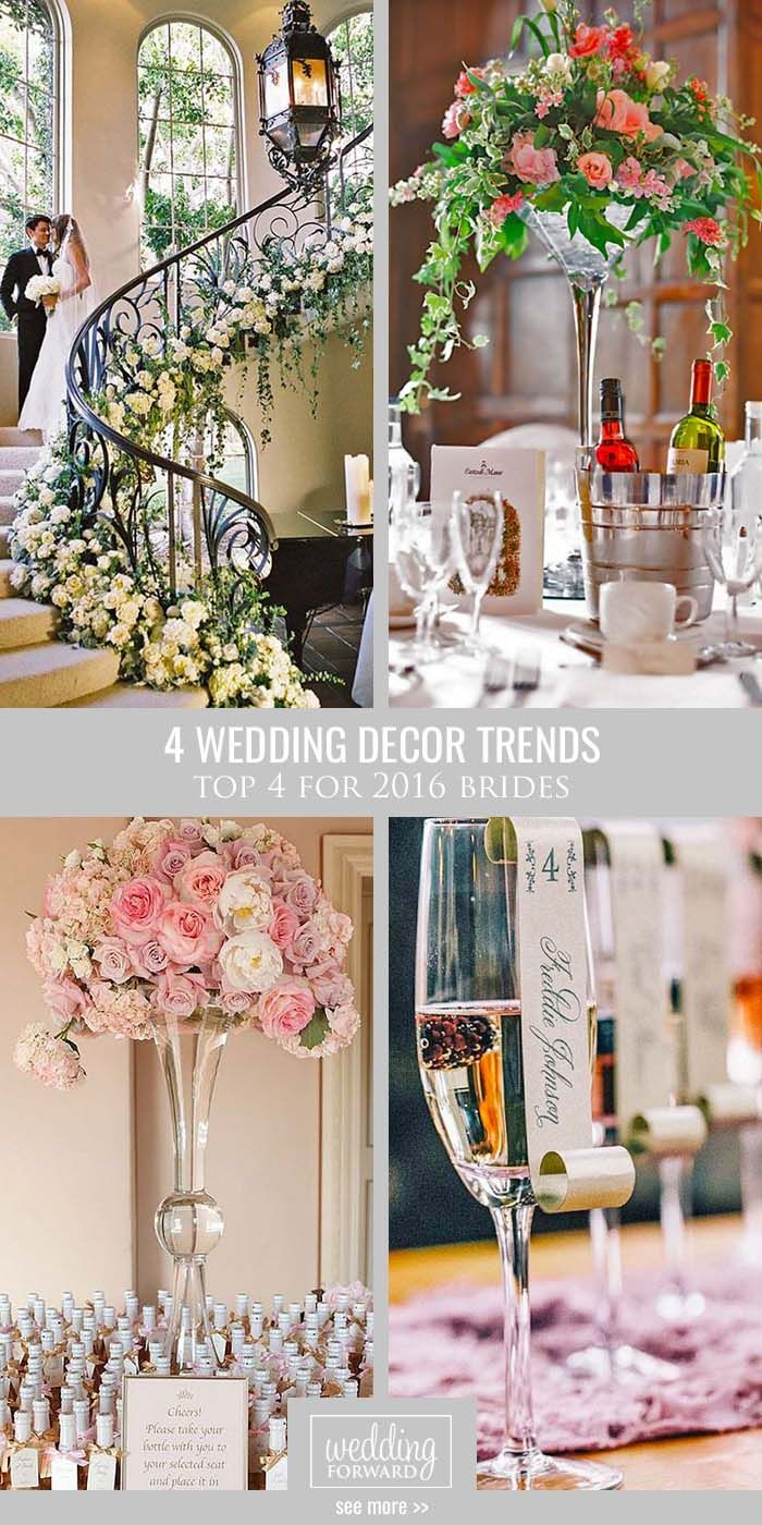 Receptions: 6 New Trends in Wedding Design images