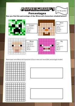Minecraft Maths Booklet Decimals Percentages Volume Area And Perimeter Area And Perimeter Math Classroom Math
