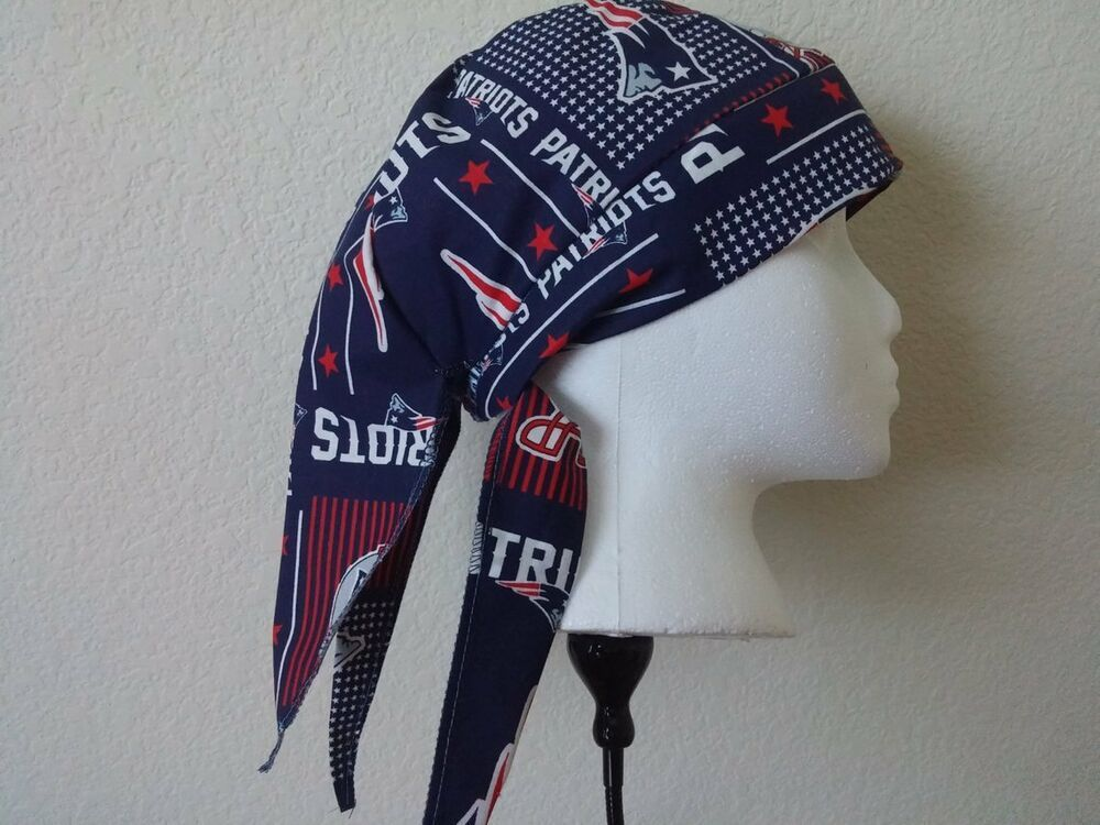 WELDING CAP MADE WITH  New England Patriots