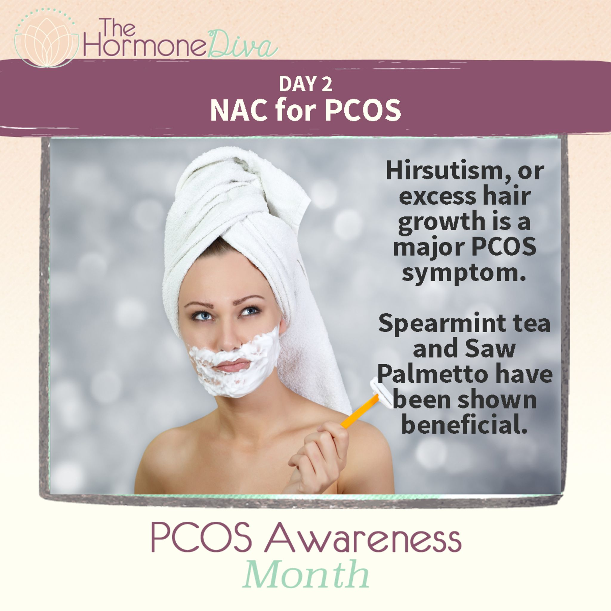pcos body hair