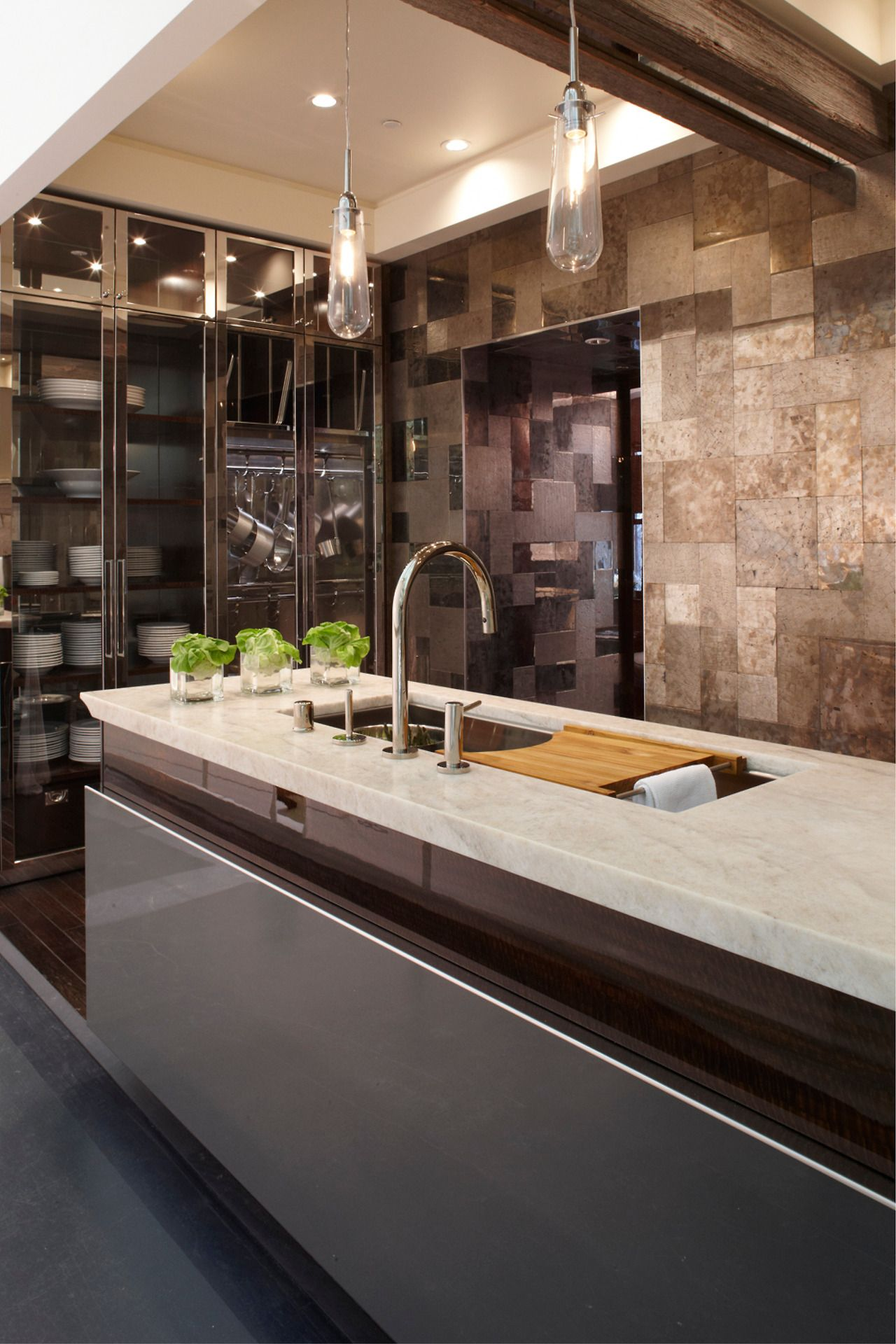 The Bold Look of Commercial kitchen design, Home, Modern