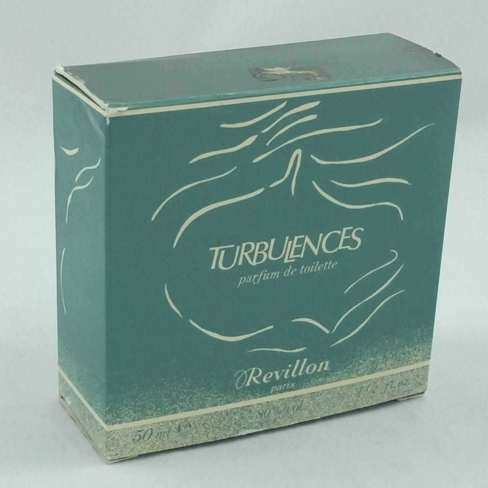 Revillon Paris TURBULENCES Parfum De Toilette Womens 1.5 fl oz 50 ml #Revillon