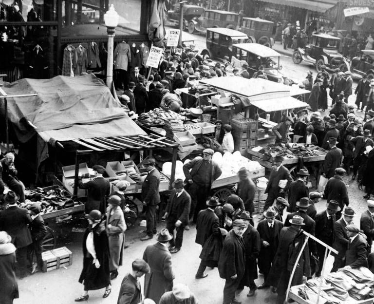 Maxwell Street Market, by some accounts, the largest in the world
