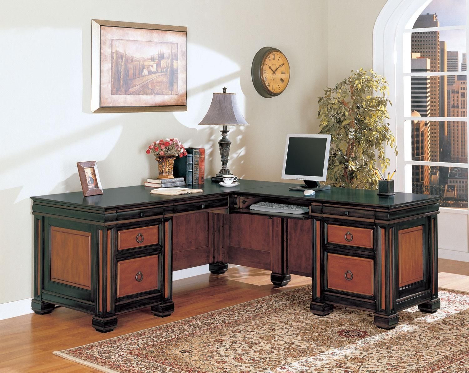 coaster shape home office computer desk. Exellent Shape Coaster Furniture Tate Office Desk  Traditionally Constructed With  Oldfashioned Accents And Complementary Wooden Colors This Large Lshaped  Throughout Shape Home Computer T