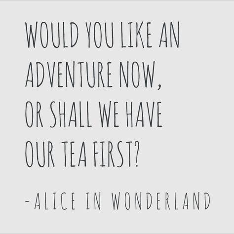 Lots Of Great Tea Quote Printables Alice In Wonderland Tea