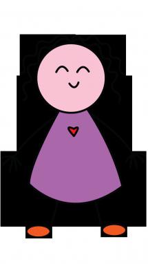 Illustration Of A Girl Kids Version Step 5 Little Girl