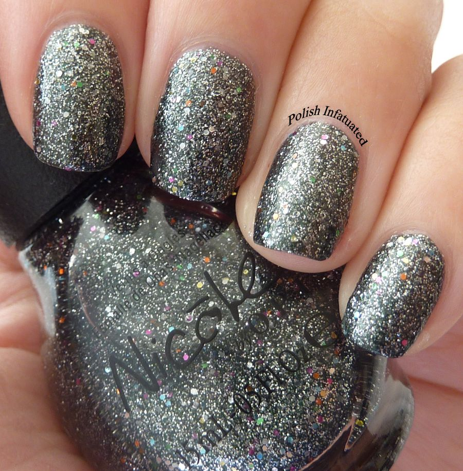 Nicole By Opi Follow Me On Glitter Nail Polish