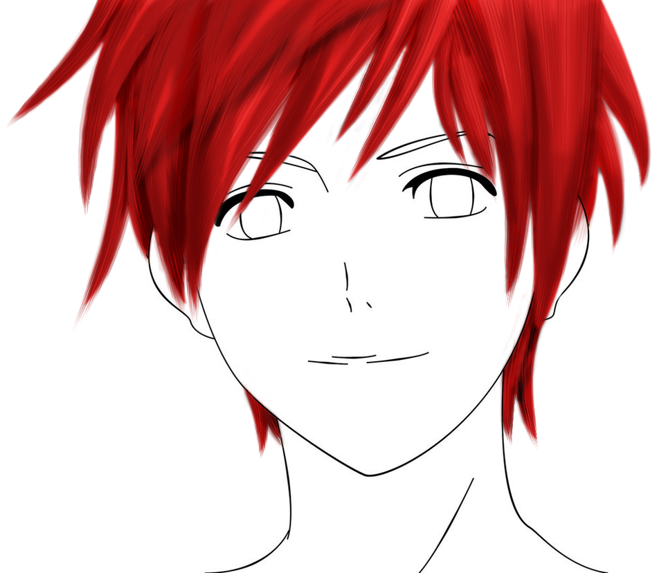 Anime Hair Png Ajcookonline Com Anime Hair Anime Red Hair Anime