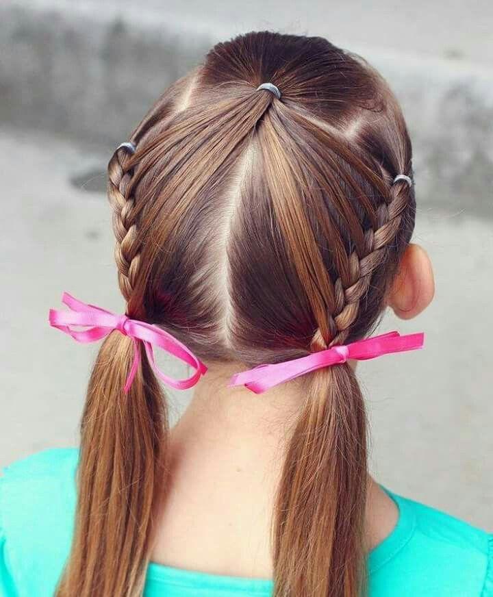 22 Peinados nina pelo largo