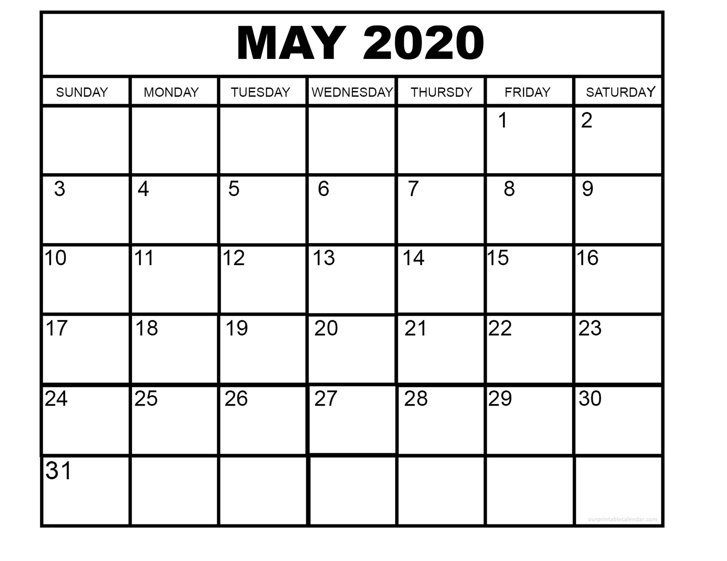 Our Printable Calendar In