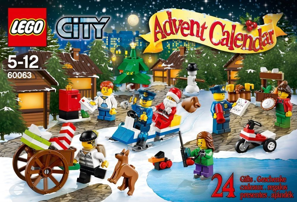 Regalini Per Calendario Avvento.Lego City 60063 Calendario Dell Avvento Advent Calendar Con