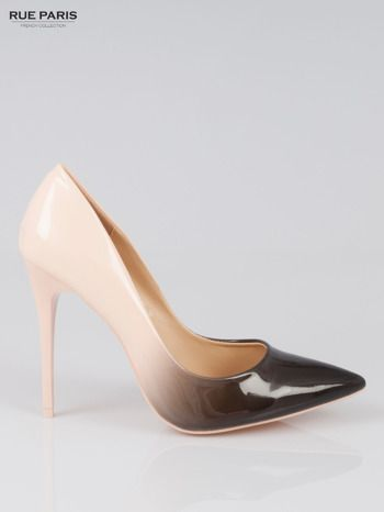 Italy Buty Jasnorozowe Szpilki Ombre Eleganckie 6159859301 Oficjalne Archiwum Allegro Heels Wedding Shoe Pumps
