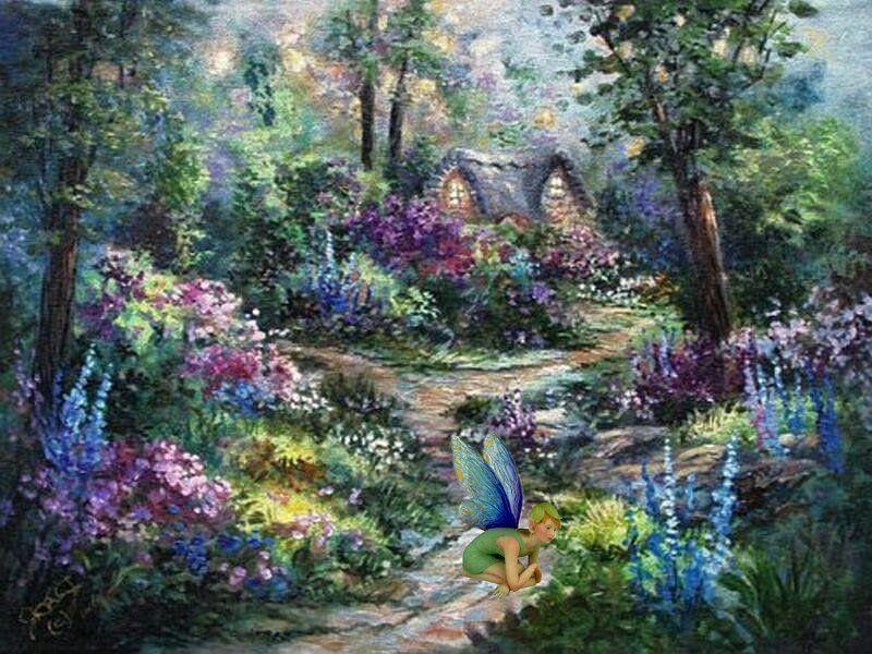 3 Cute 3 Fairy Garden Fairy Garden Art Garden Girls